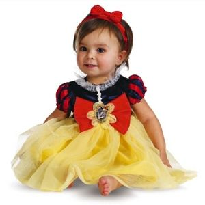 Snow White baby Halloween costume - 6-12m